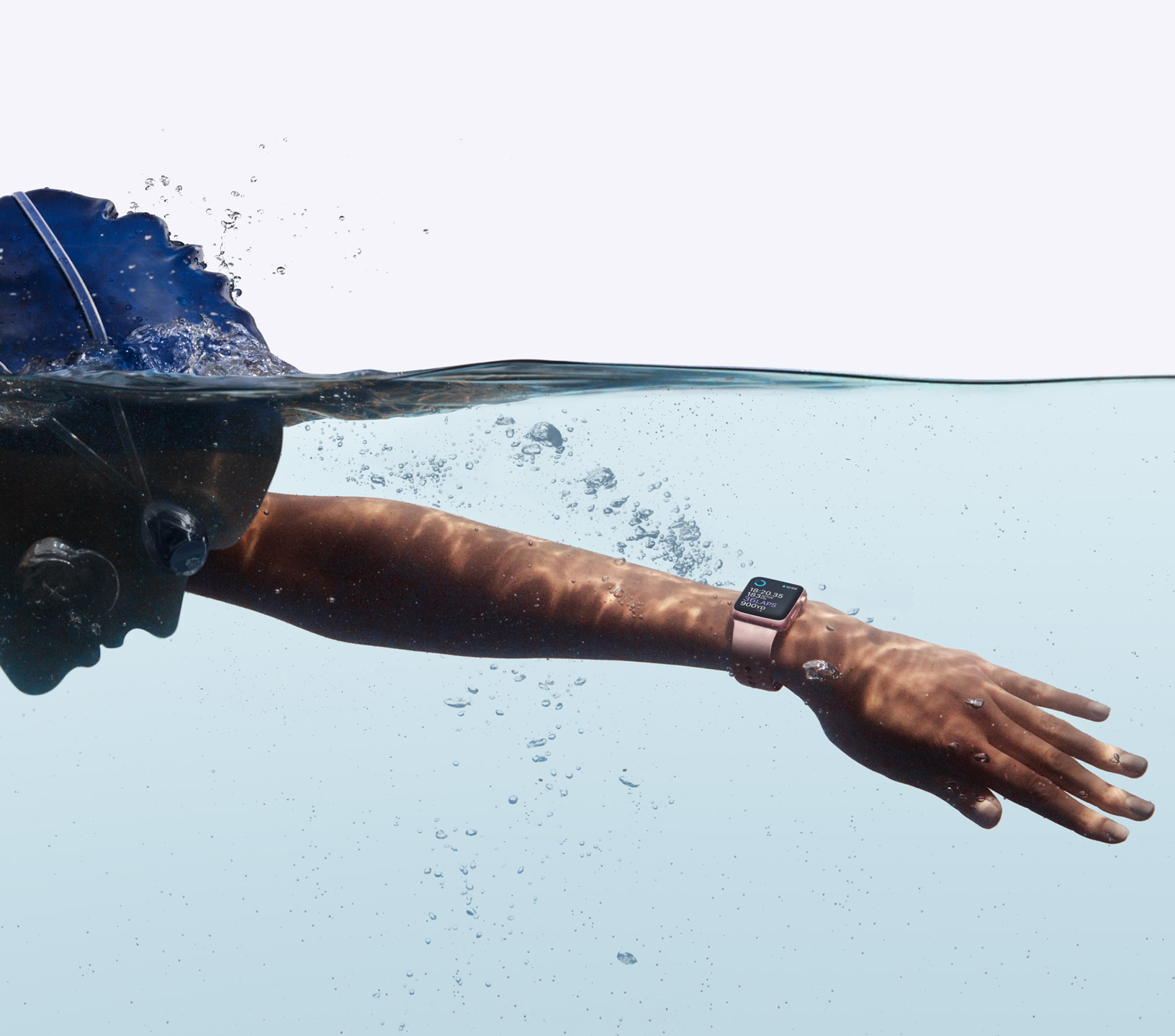 Apple Watch Series 2 Swimming