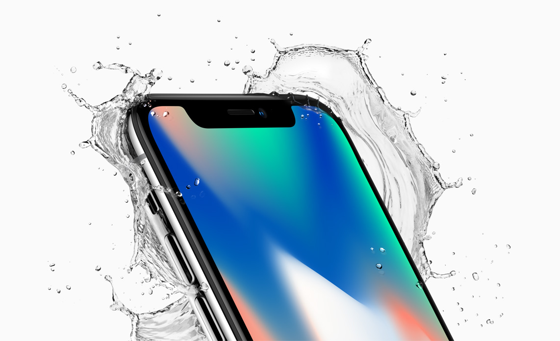 Apple iPhone X New Zealand splash