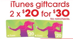 Target iTunes Gift Card Sale - Mac Prices New Zealand