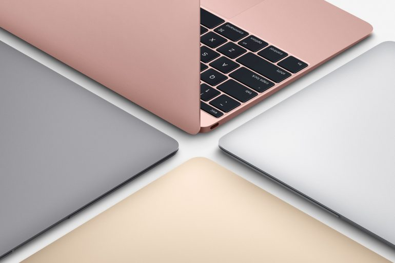 New 2016 MacBook 12-inch colours