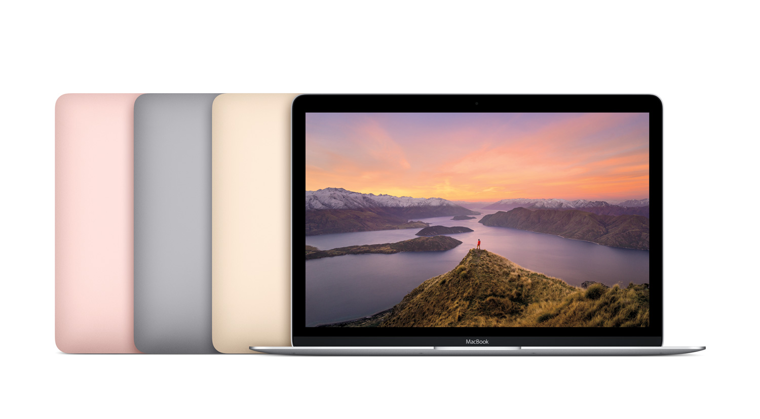 New MacBook colours: Rose Gold, Space Grey, Gold & Silver.