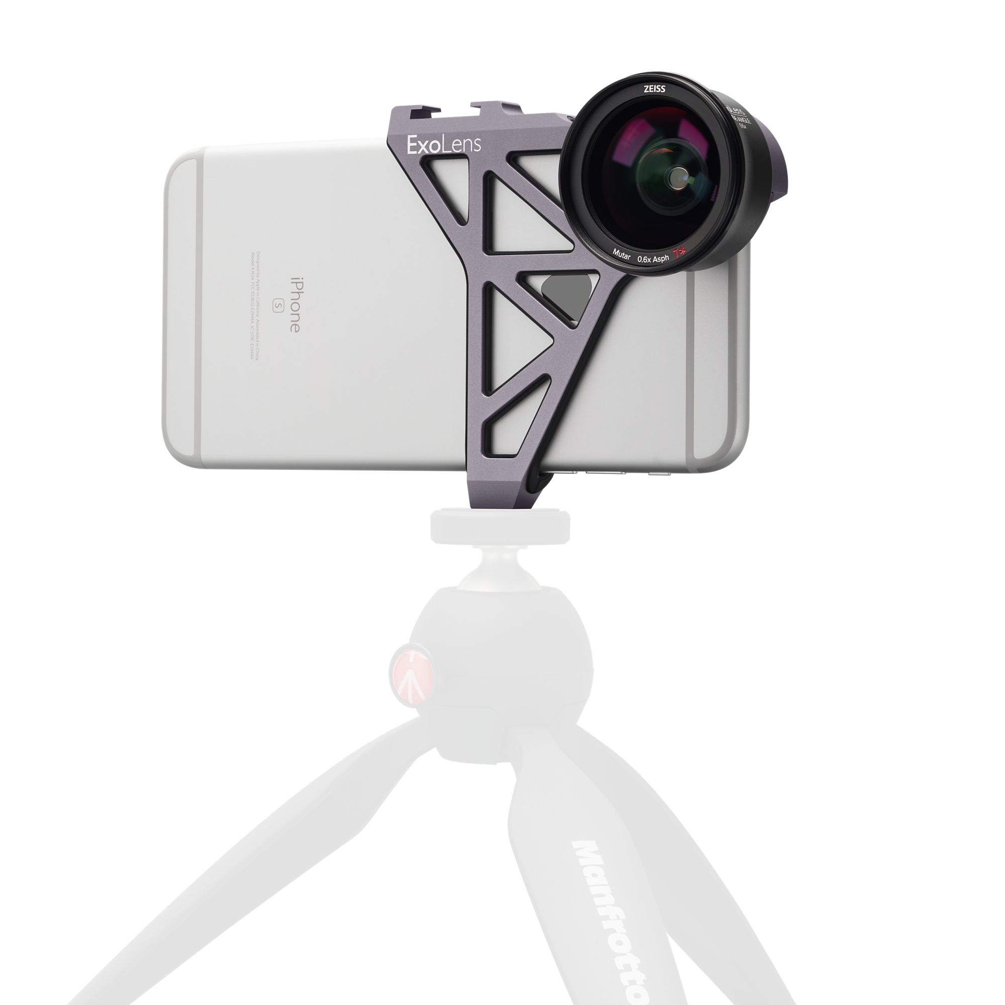 ExoLens with Optics by ZEISS Wide-Angle Lens Kit for iPhone