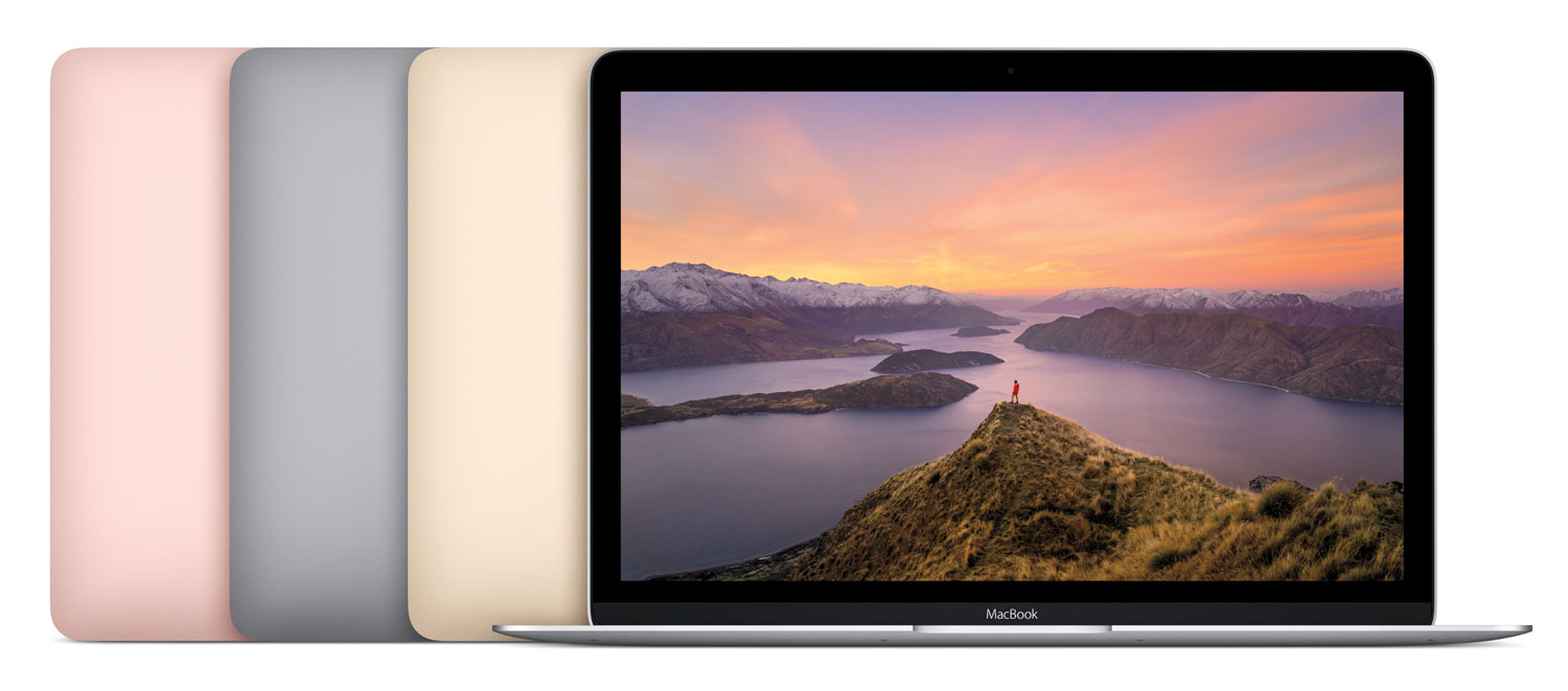 MacBook 12-inch colours