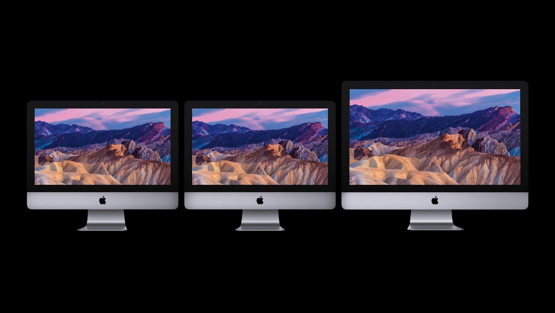 iMac Desktop 2017 Lineup