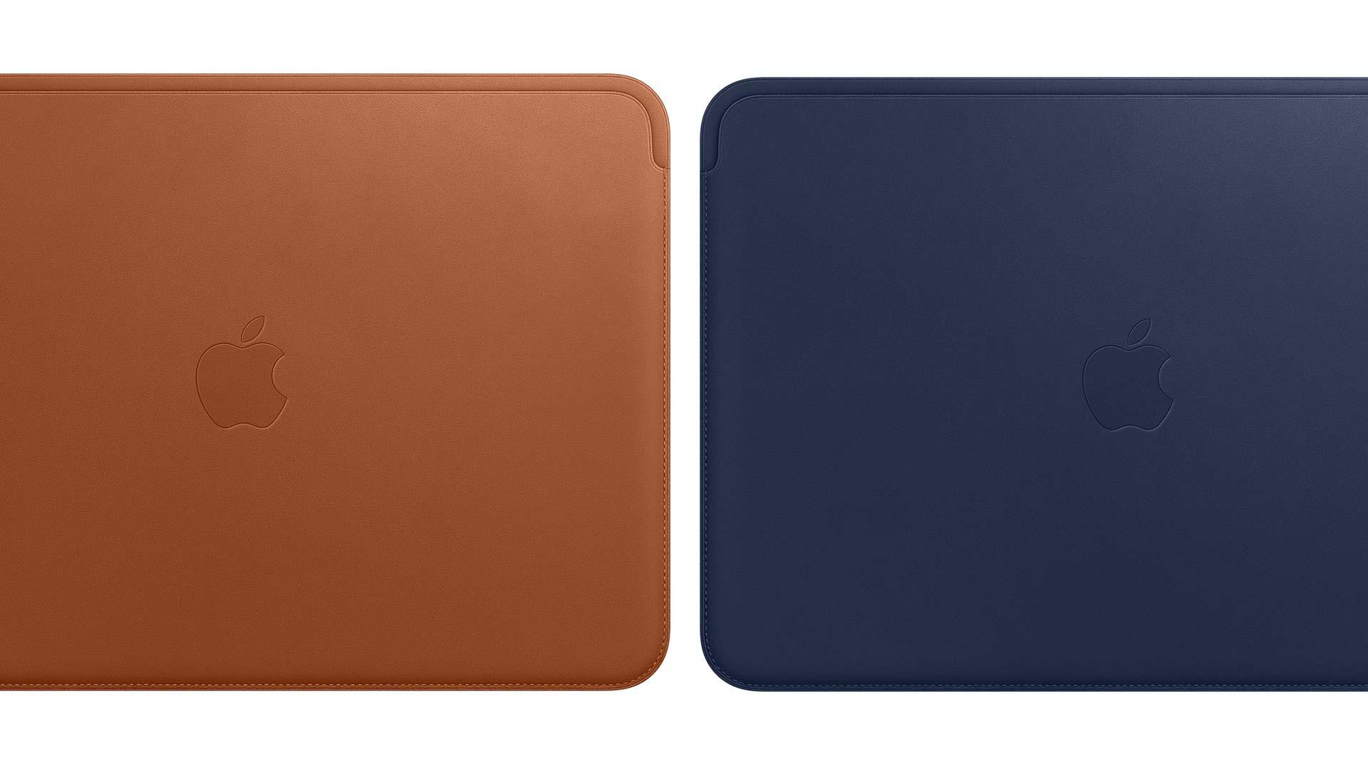 Apple Leather 12 inch MacBook Sleeve Range New Zealand