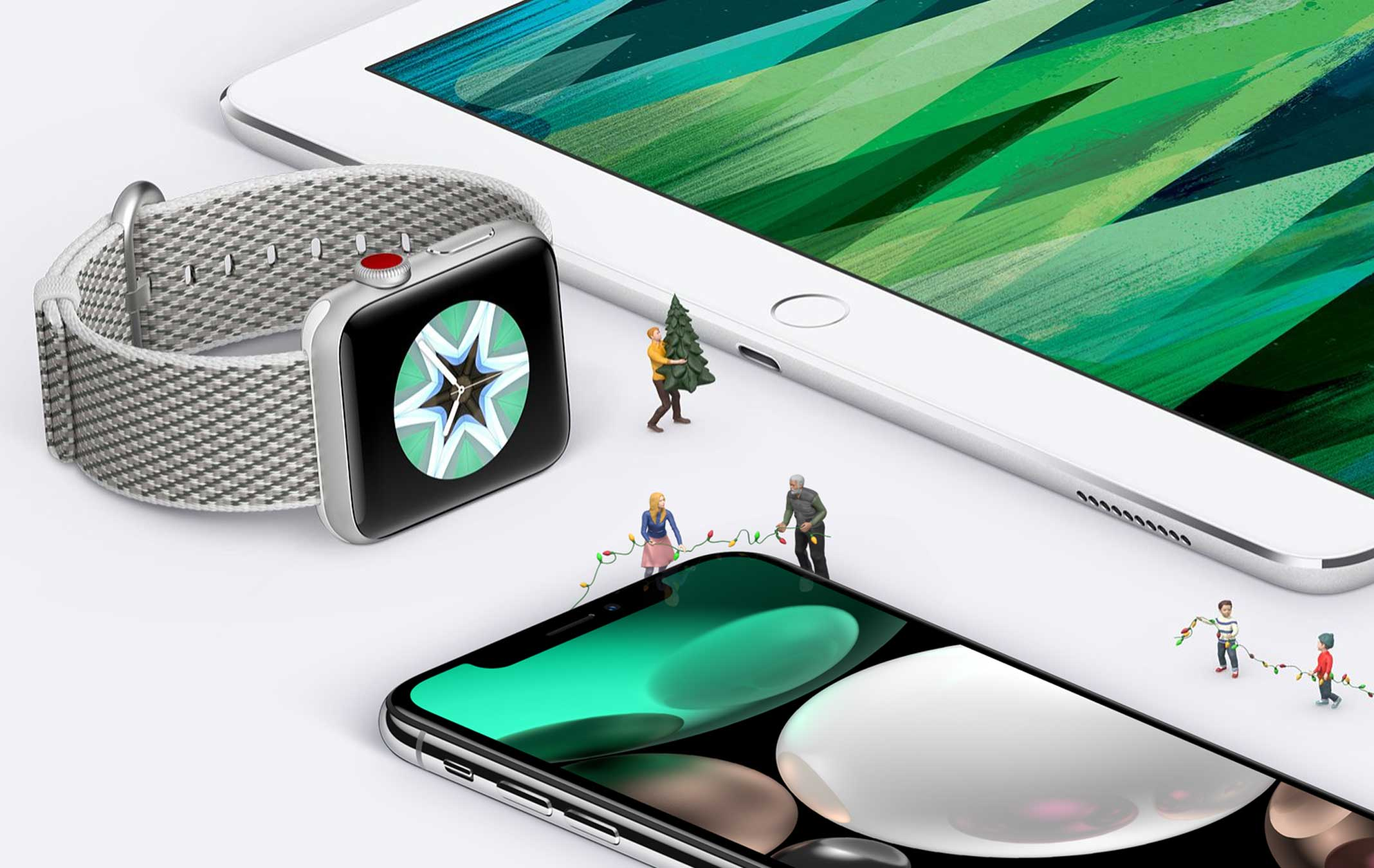 Apple Christmas-Gifts iPad Pro Apple Watch iPhone X - Mac Prices New ...