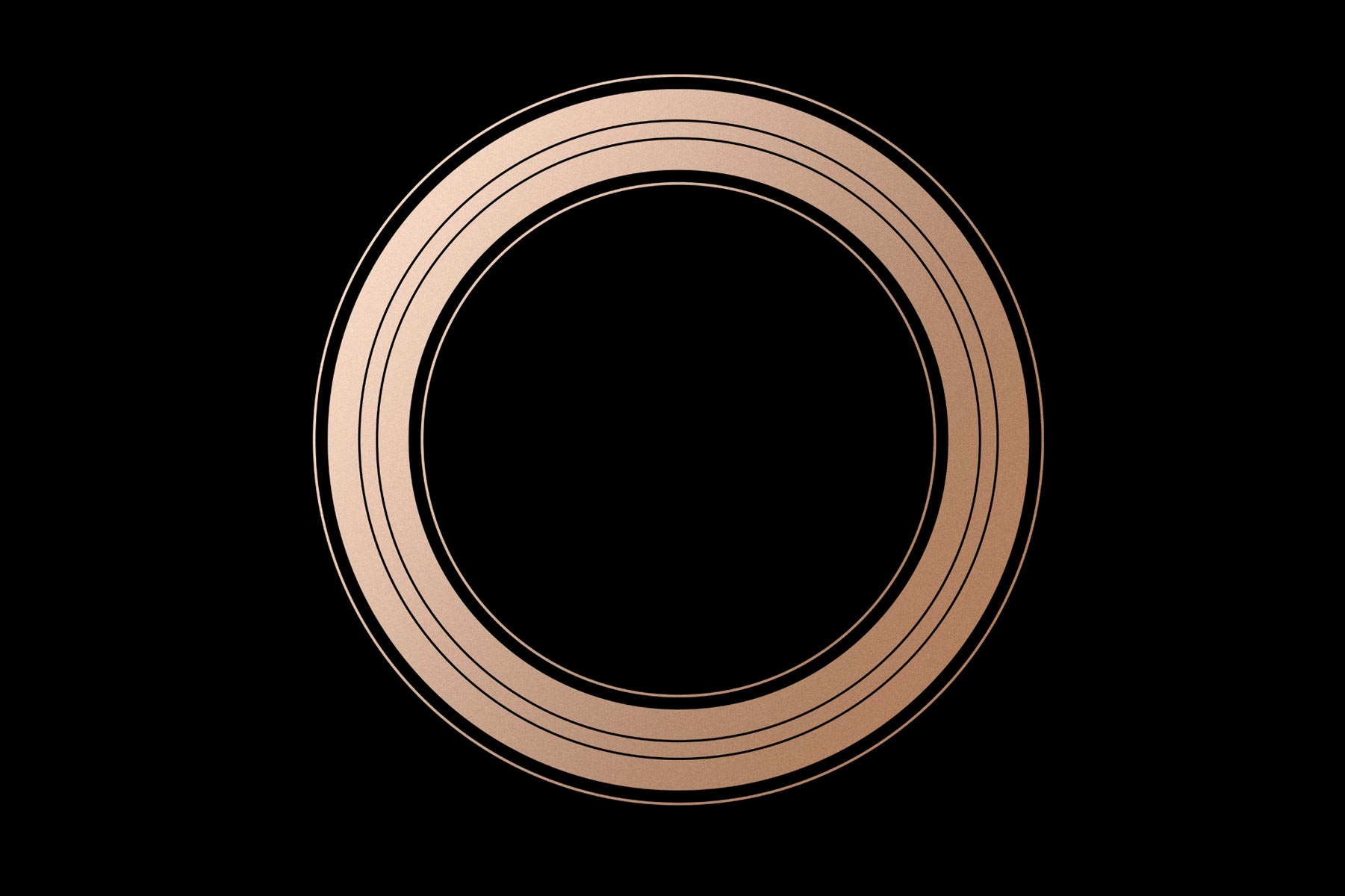 Apple September Event Gold Ring