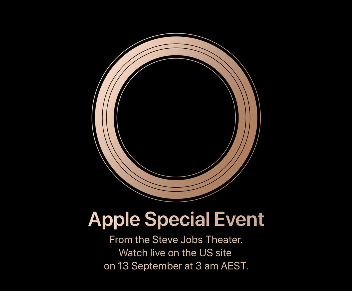 Apple September Event Media-Invite