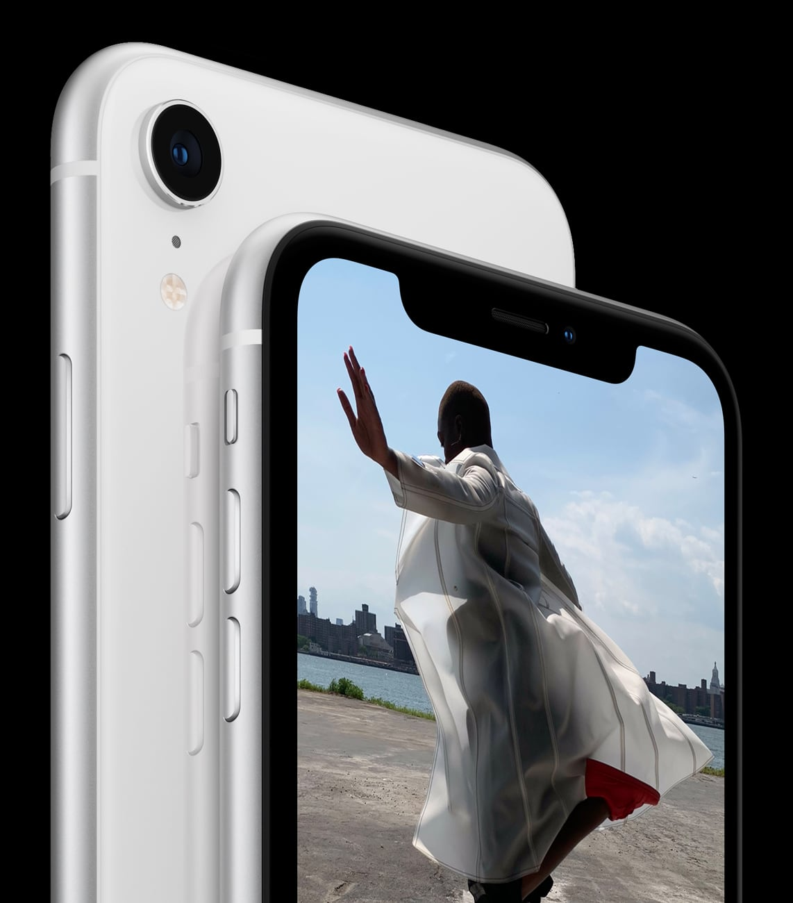 New Apple iPhone XR White back and Front