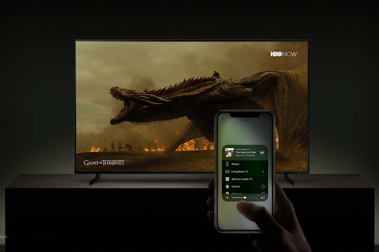 Samsung-TV-Airplay-Game-of-Thrones