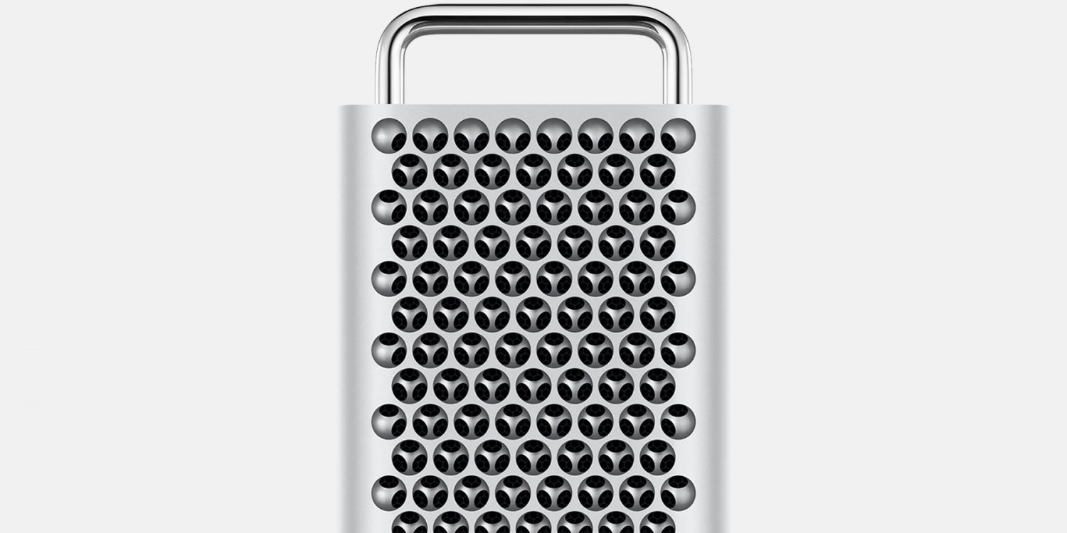 2019 Released Mac Pro Front Closeup