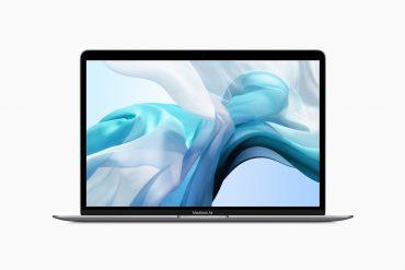 Space Grey MacBook Air July 2019